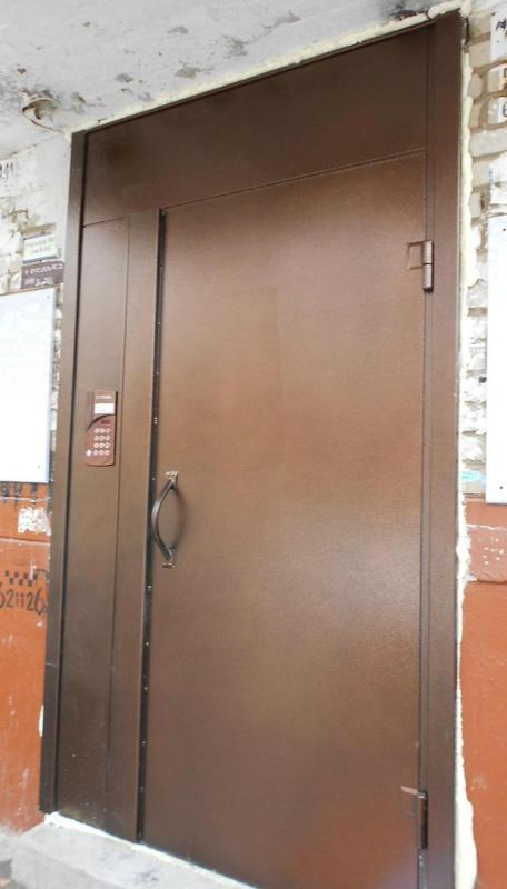 металлические двери для офиса подъезда