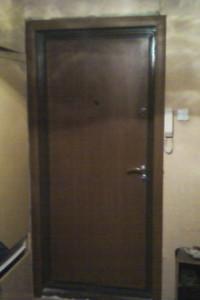 Откосы к металлическим дверям